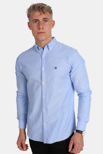 Collect Skjorte Light Blue