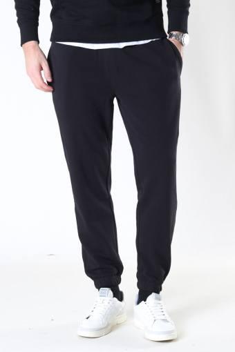 Basic Organic Pants Black
