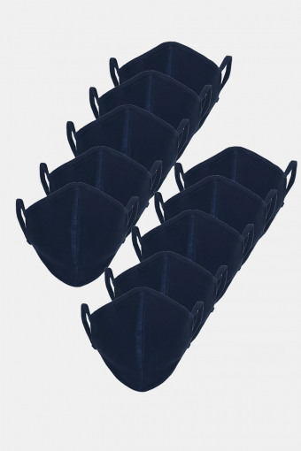 10-Pack Mundbind Navy