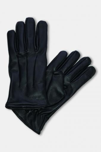 Montana Læder Handsker Black