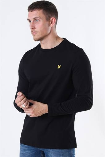 LS Crew Neck T-shirt Jet Black