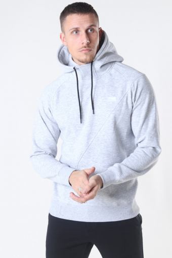 Jack & Jones Ponn Sweat Hoodie Light Grey Melange
