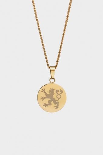 Lionheart Pendant Halskæde Gold