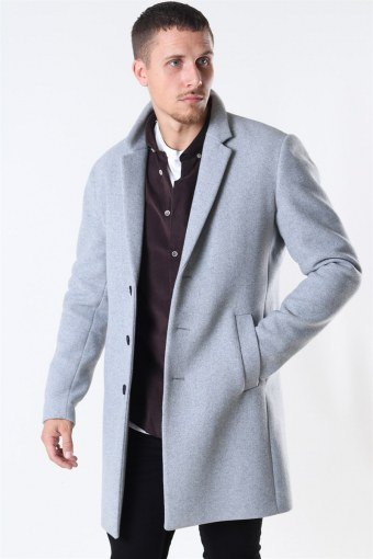 Jack & Jones Moulder Wool Jakke Light Grey