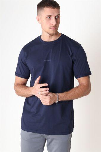 Lens T-shirt Dark Navy