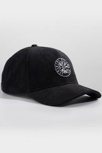 Vegvisir Corduroy Cap Black