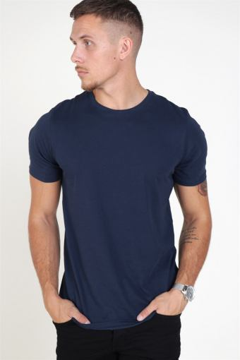 Jack & Jones Organic Basic Tee SS O-Neck Noos Navy Blaze