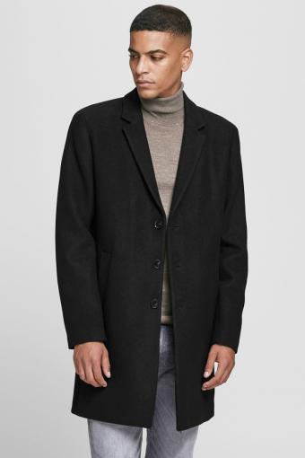 Moulder Wool Jakke Black
