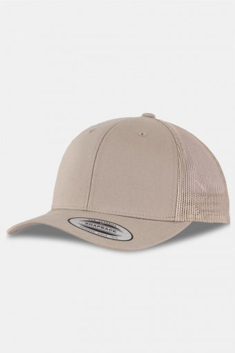 Flexifit Retro Trucker Cap Khaki