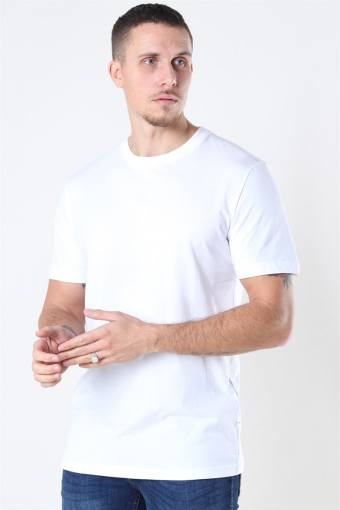 Norman 180 SS O-Neck T-shirt Bright White