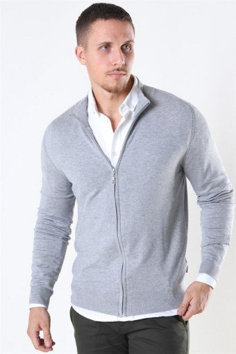 Chris Zip Strik Light Grey Mix