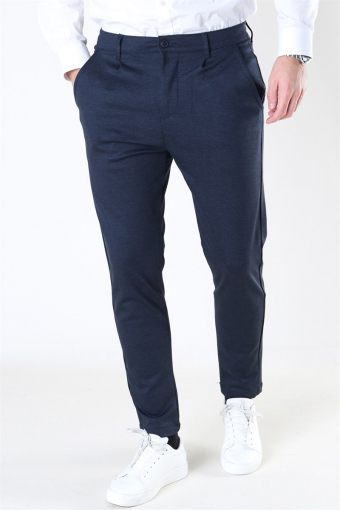Club Oblique Striped Pants Navy