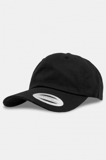 Flexfit Low Profile Cotton Twill Baseball Cap Black