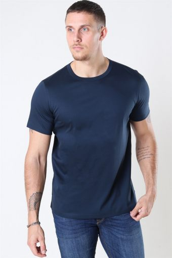 Mos Mosh Perry Basic T-shirt Navy
