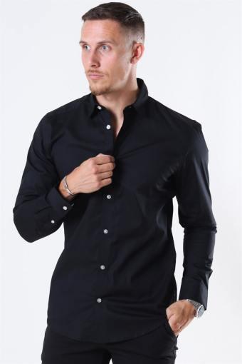 Bart Life LS Organic Skjorte Noos Black