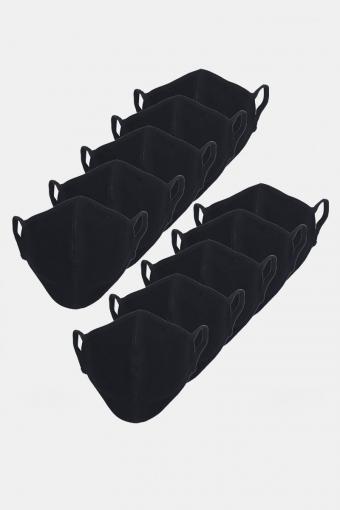 Stretch Mundbind 10-pack Black