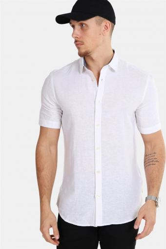Tailored & Originals Karter S/S Skjorte Off-White