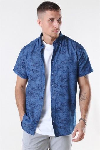 Johan Denim Flower Blue