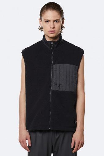 Fleece Vest 01 Black