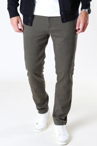 Brody Twill 5-pocket pants Army