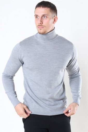 Merino Wool Roll Strik Light Grey Mel