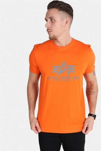 Basic T-shirt  Flame Orange