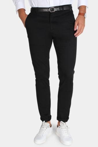 Tailored & Originals Rainford Bukser Black
