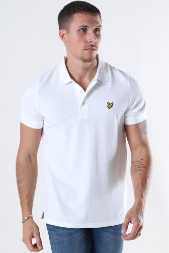 Plain Polo White