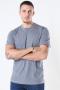 Selected Norman 180 SS O-Neck T-shirt Medium Grey Melange