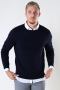 ONLY & SONS ONSWYLER LIFE LS CREW KNIT NOOS Dark Navy
