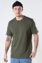 ONLY & SONS ONSANEL LIFE REG SS TEE Olive Night