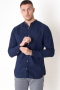 Jack & Jones Summer Band Skjorte L/S Navy Blazer