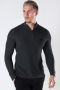 ONLY & SONS ONSWEB LIFE STRUCTURE HALF ZIP KNIT Peat