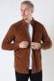 ONLY & SONS ONSNIGEL LIFE LS ORGANIC REG CORD SHIRT Monks Robe