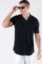 Only & Sons Silo Solid Viscose Skjorte Black