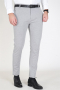 Clean Cut Milano Jersey Pants Light Grey Mel
