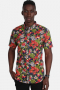 Kronstadt Johan Exotic S/S Shirt Forest/Red