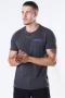 Solid Matti SS T-Shirt Med Grey