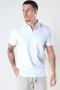 Clean Cut Copenhagen Silkeborg Stretch Polo White
