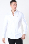 Tommy Jeans Slim Stretch Oxford Skjorte White