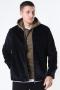 Only & Sons Braiden Heavy Cord Zip Overshirt Black