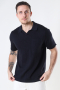 ONLY & SONS ONSACE LIFE 12 SLUB SS POLO KNIT NOOS Dark Navy