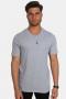 Basic Brand Uni Fashion V T-shirt Oxford Grey
