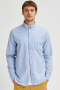Selected SLHREGRICK-OX FLEX SHIRT LS S NOOS Light Blue