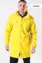 Rains Long Regnfrakke Yellow