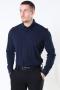 Selected Slim Oliver Knit Flex Skjorte LS Dark Sapphire