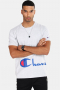 Champion Crewneck T-shirt Light Grey
