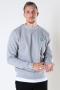Kronstadt Lars Organic/Recycled sweat crew Grey mel