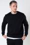 Kronstadt Lars Organic/Recycled sweat crew Black