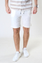 Solid SDTruc Shorts Linen Off White